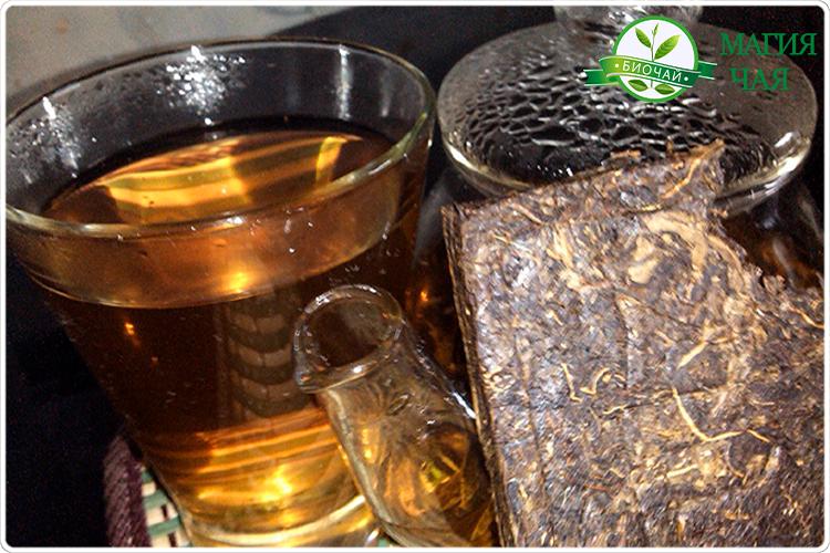 прессованный иван чай