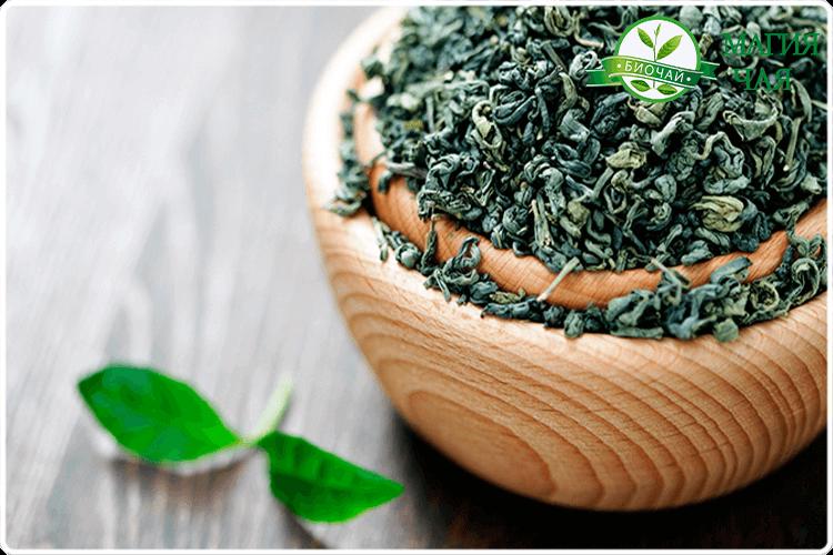 сушеный лист чая